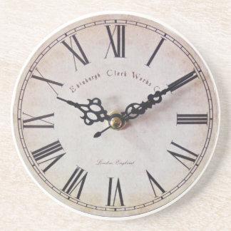 Classic clock coaster