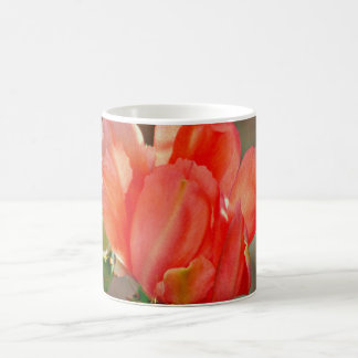 Classic Coffee Mug Cactus Bloom in Red