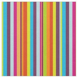 Classic Colorful Stripes Fabric