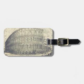 Classic Colosseum luggage Tag