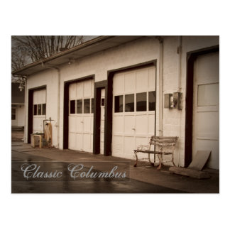 Classic Columbus Indiana - Discover your location Postcard