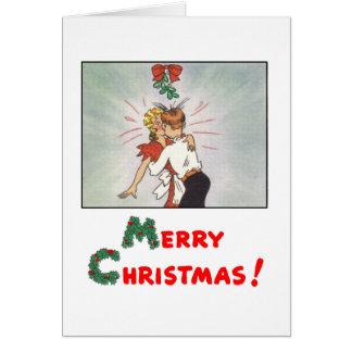 Classic Comic Strip Christmas Card