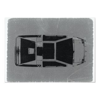 Classic Concept Car Invitation