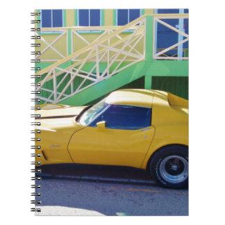 Classic Corvette Stingray. Spiral Note Books