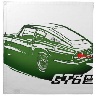 Classic coupe GT6 Napkin