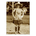 Classic Cowgirl Card