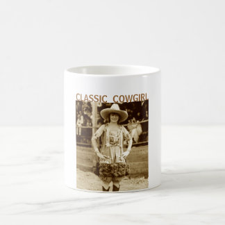 Classic Cowgirl Coffee Mug