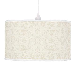Classic Cream Fleur Design Pendant Lamp