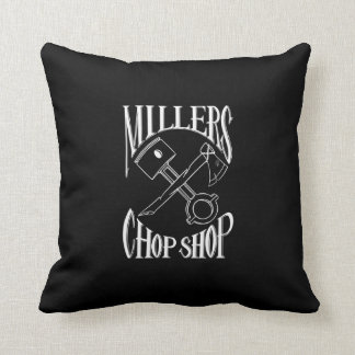 Classic Cross Bones Logo Throw Pillow