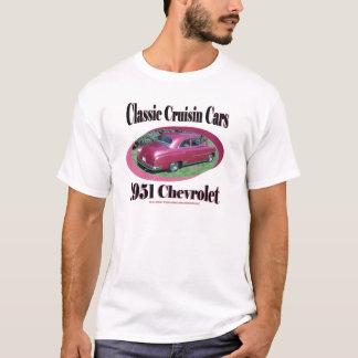 Classic Cruisin Cars 1951 Chevrolet T-Shirt