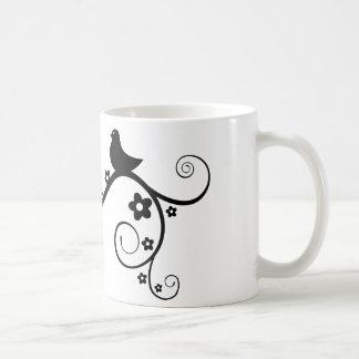 Classic cup bird