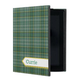 Classic Currie Tartan Plaid iPad Case