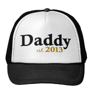 Classic Daddy Est 2013 Trucker Hat
