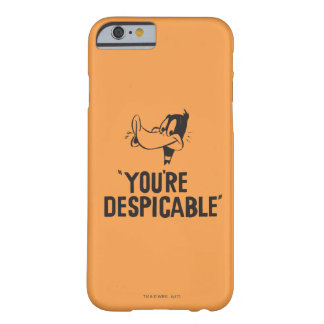 "Classic DAFFY DUCK™ ""You're Despicable"" Barely There iPhone 6 Case"