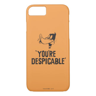 "Classic DAFFY DUCK™ ""You're Despicable"" iPhone 8/7 Case"