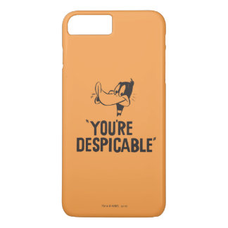 """Classic DAFFY DUCK™ """"You're Despicable"""" iPhone 8 Plus/7 Plus Case"""