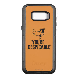 "Classic DAFFY DUCK™ ""You're Despicable"" OtterBox Commuter Samsung Galaxy S8+ Case"