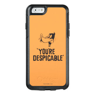 "Classic DAFFY DUCK™ ""You're Despicable"" OtterBox iPhone 6/6s Case"