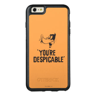 """Classic DAFFY DUCK™ """"You're Despicable"""" OtterBox iPhone 6/6s Plus Case"""