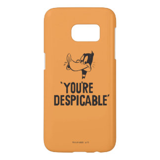 "Classic DAFFY DUCK™ ""You're Despicable"" Samsung Galaxy S7 Case"