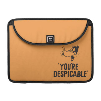"""Classic DAFFY DUCK™ """"You're Despicable"""" Sleeve For MacBook Pro"""