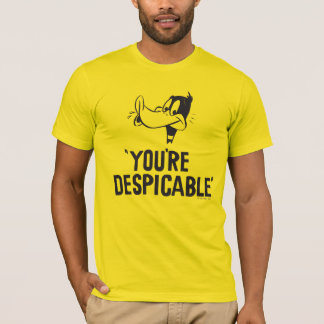 """Classic DAFFY DUCK™ """"You're Despicable"""" T-Shirt"""