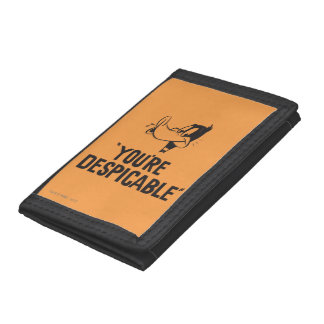 "Classic DAFFY DUCK™ ""You're Despicable"" Trifold Wallet"