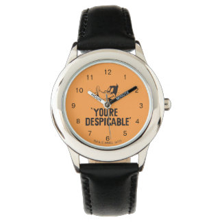 """Classic DAFFY DUCK™ """"You're Despicable"""" Wrist Watch"""