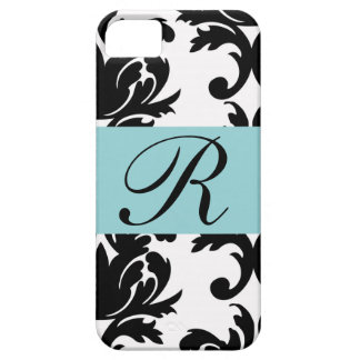 Classic Damask Pattern/Monogram - Iphone 7 Case