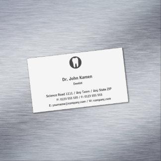 Classic Dentist Business Card