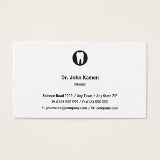 Classic Dentist | Classic Business Card