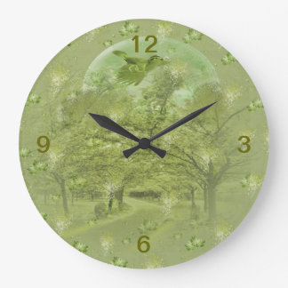 classic design with landscape wallclocks