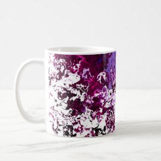 Classic Designer Mugs Red and Purple Spark