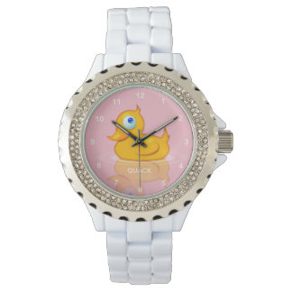 Classic Digital Rubber Duck Watch