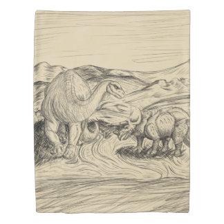 Classic Dinosaurs Duvet Cover