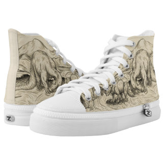 Classic Dinosaurs High Tops