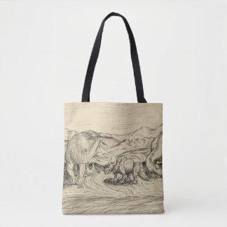 Classic Dinosaurs Tote Bag
