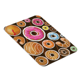 Classic Doughnut's Rectangle Magnet