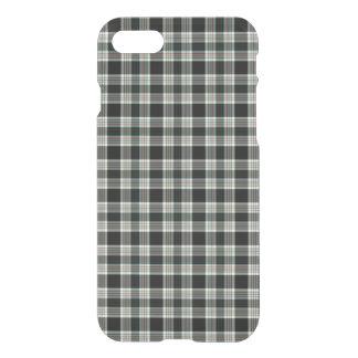 Classic Elegant Dark Preppy Plaid Tartan Pattern iPhone 8/7 Case