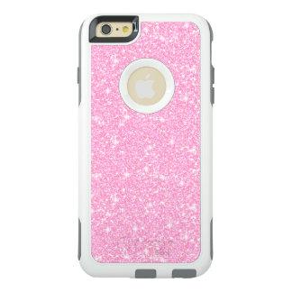 Classic Elegant Pastel Pink Glitter OtterBox iPhone 6/6s Plus Case