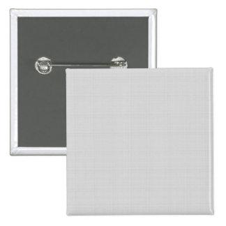 Classic Faux Linen Silver Grey 2 Inch Square Button