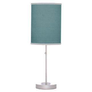 Classic Faux Linen Smalt Blue Desk Lamp