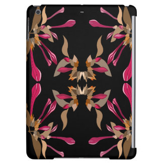 Classic Feminine Artsy Floral Pattern Case For iPad Air