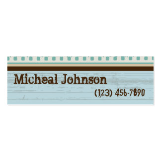 Classic Film Grunge Pack Of Skinny Business Cards