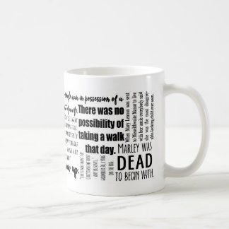 Classic First Lines in Literature Mug