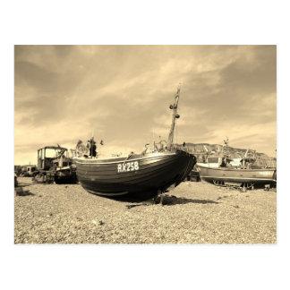 Classic Fishing Boat Postcard