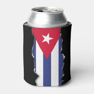 Classic Flag of Cuba Can Cooler