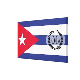 Classic Flag of Cuba Canvas Print