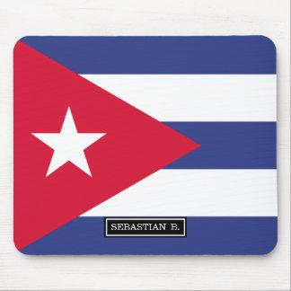 Classic Flag of Cuba Mouse Pad