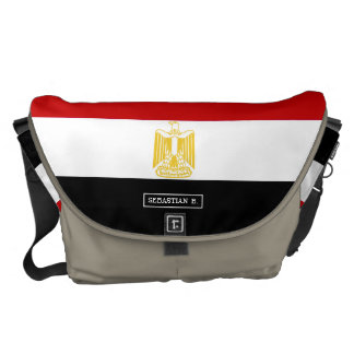 Classic Flag of Egypt Commuter Bags